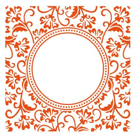 DF3425 ~ ANJA'S CIRCLE ~ Embossing Folder ~ Marianne Creatables